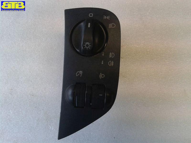 schalter licht 6k1941531f mit nebelscheinwerferfunktion seat ibiza ii 6k1 1 6 i. Black Bedroom Furniture Sets. Home Design Ideas