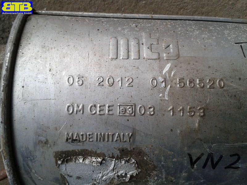 Schalldämpfer mitte Bosal-Vergl.-Nr. 281-693RENAULT LAGUNA GRANDTOUR (K56_) 1.6 16V (K568)