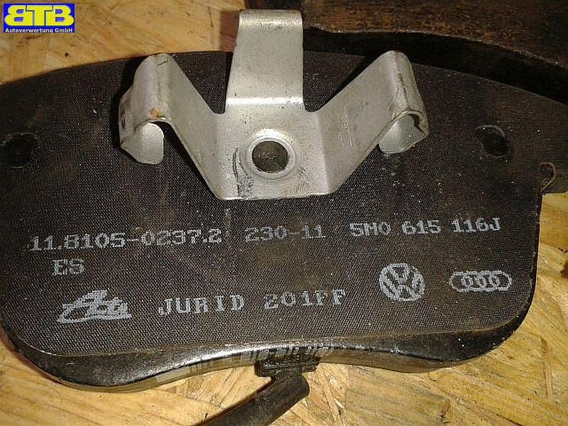 Bremsbelag SB vorne mit Verschleißanzeige / 571985JVW GOLF IV VARIANT (1J5) 1.6