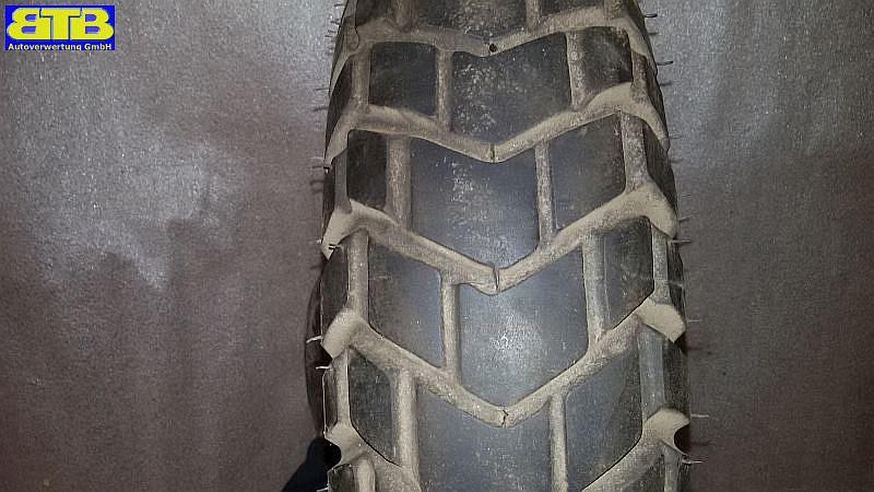 Reifen auf Stahlfelge Felge: 3.00x10, Reifen 120/90-10 57J Profiltiefe 4,5mm VESPA PK V50
