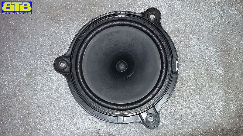 Lautsprecher links hinten 281563SG0A Max. 40Watt TürenlautsprecherNISSAN NOTE (E12) 1.2 DIG-S