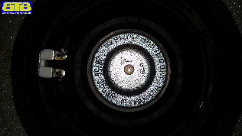Lautsprecher rechts hinten 281563SG0A Max. 40Watt  TürenlautsprecherNISSAN NOTE (E12) 1.2 DIG-S