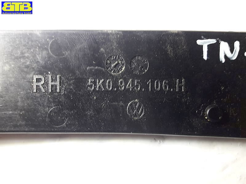 Abdeckung Reflektor Rückstrahler, RelfektorVW GOLF VI (5K1) 1.6