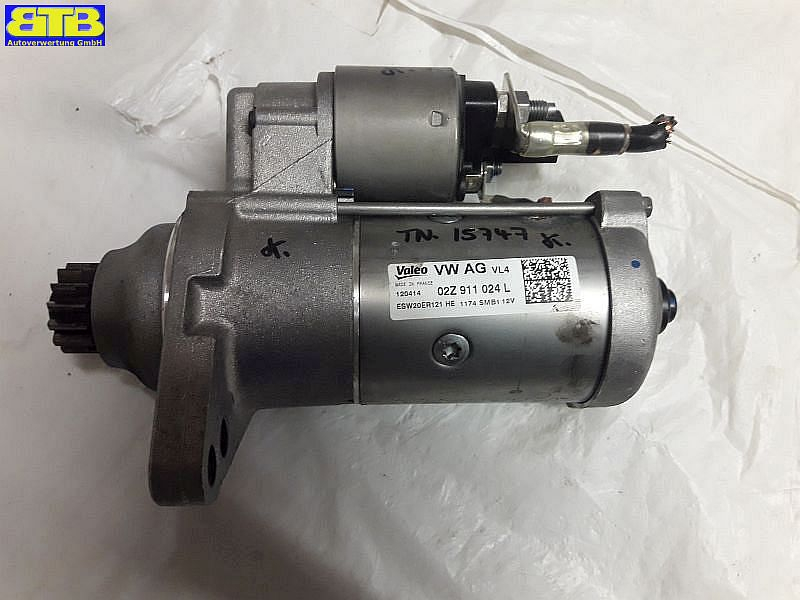 Anlasser / Starter 02Z911024L / ESW20ER121 /VW GOLF SPORTSVAN (AM1) 1.6 TDI