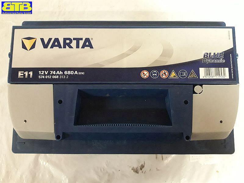 Batterie 12V-74Ah / 680A (EN) VARTA-E11