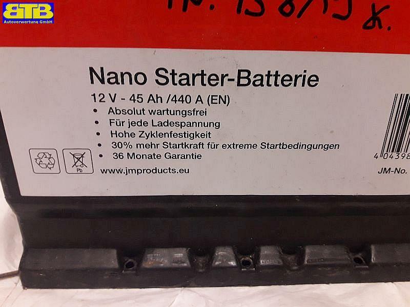 Batterie Nano Starter Batterie 12V 45Ah/440A (EN)