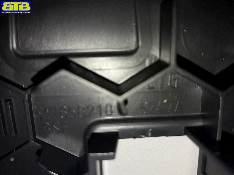 Verkleidung Armaturenbrett rechts Airbagschalter Verkleidung titanschwarzVW GOLF SPORTSVAN (AM1) 1.6 TDI