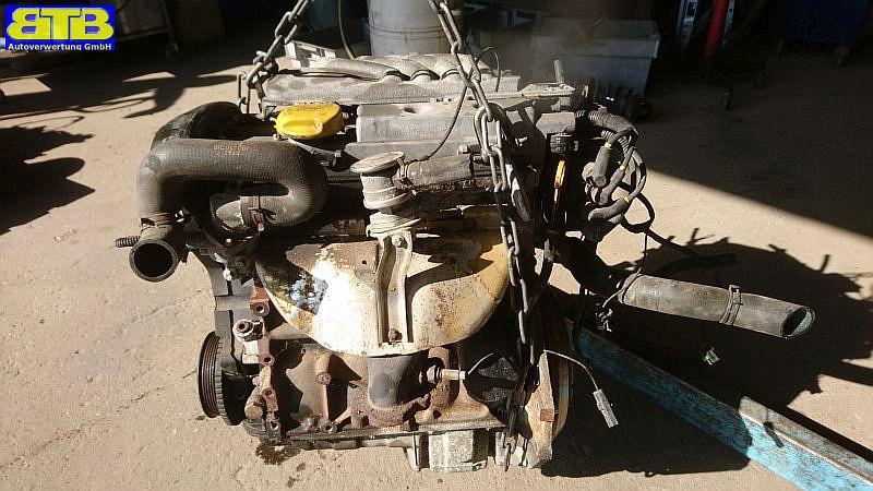 Motor ohne Anbauteile (Benzin) X16XEL Laufleistung 219.658km als ErsatzteilespenderOPEL ASTRA F CC (53_, 54_, 58_, 59_) 1.6I 16V