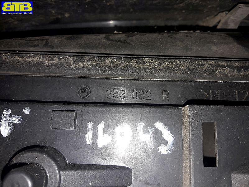 Rückleuchte / Heckleuchte / Rücklicht rechts mit Lampenträger 253032RSMART CITY-COUPE (MC01) 0.6 (S1CLA1)
