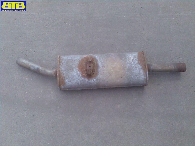 Schalldämpfer hinten Bosal-Vergl.-Nr.: 233-269VW PASSAT (32B) 1.6