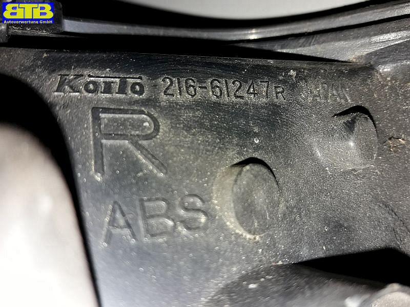 Blinker rechts vorn weiß ohne LampenträgerMAZDA 323 III HATCHBACK (BF) 1.6 GT