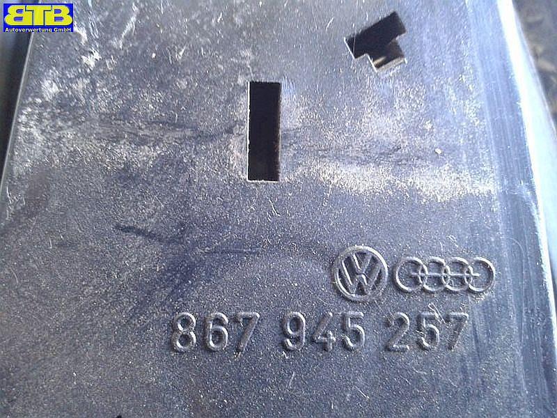 Rückleuchte / Heckleuchte / Rücklicht links mit Lampenträger 867945257VW POLO (86C) 1.0  KAT