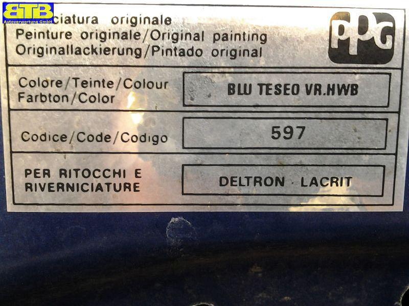 FIAT PUNTO (188) 1.2 60 (188.030, .050, .130,