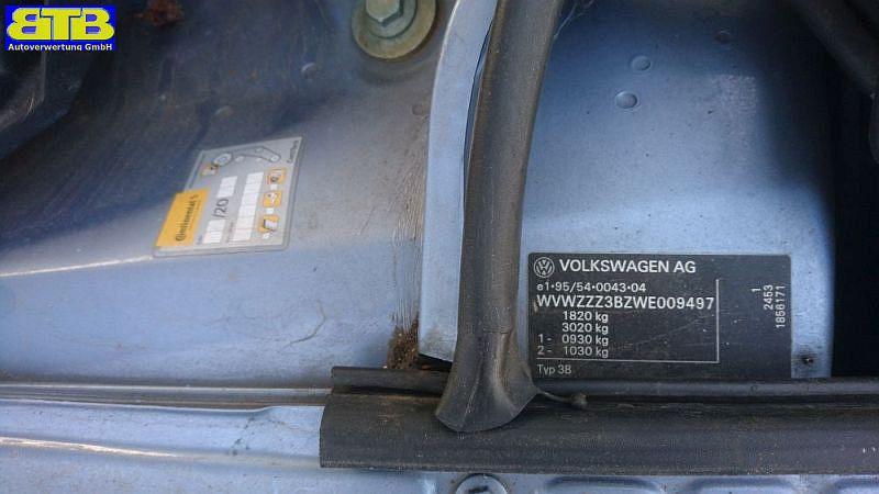 VW PASSAT VARIANT (3B5) 1.6