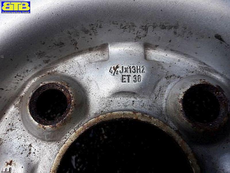 Felge: 4.5JX13 H2 ET38 LK4X100X57