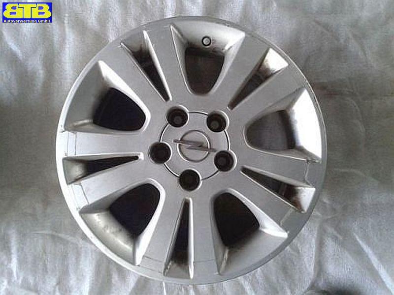 Aluminiumfelge 6JX16 H2 ET49 LK5X110X65