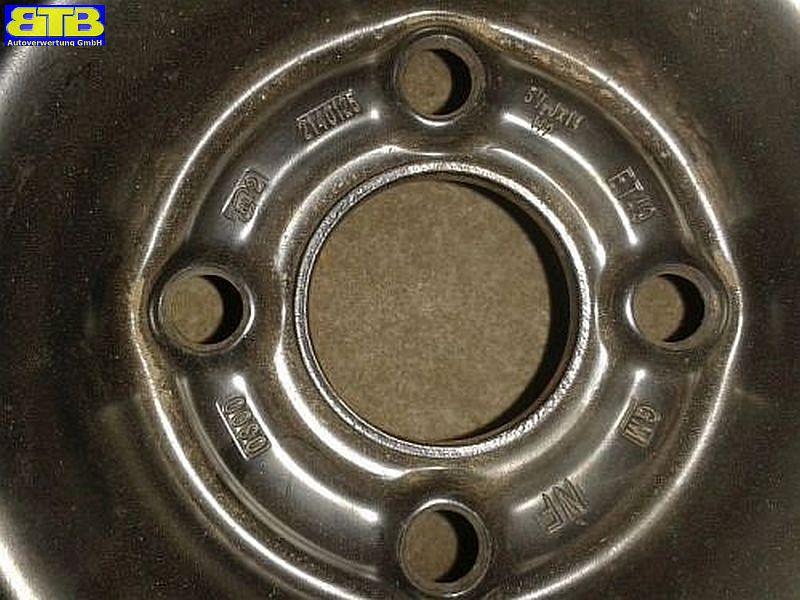 Felge: 5.5JX14 H2 ET49 LK4X100X56,5