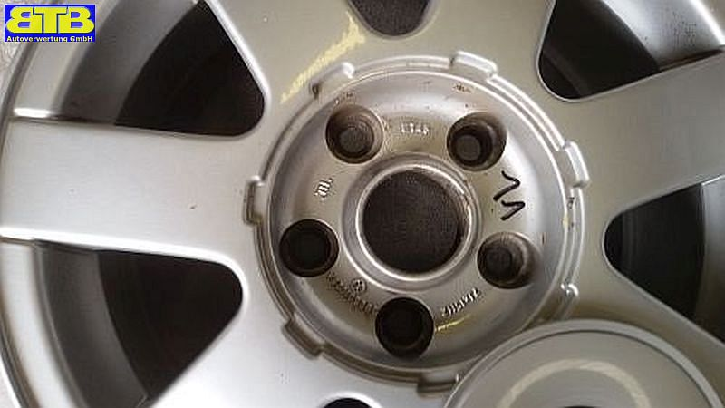 Aluminiumfelge 7JX15 H2 ET45 LK5X112X571Satz(je4Stück)