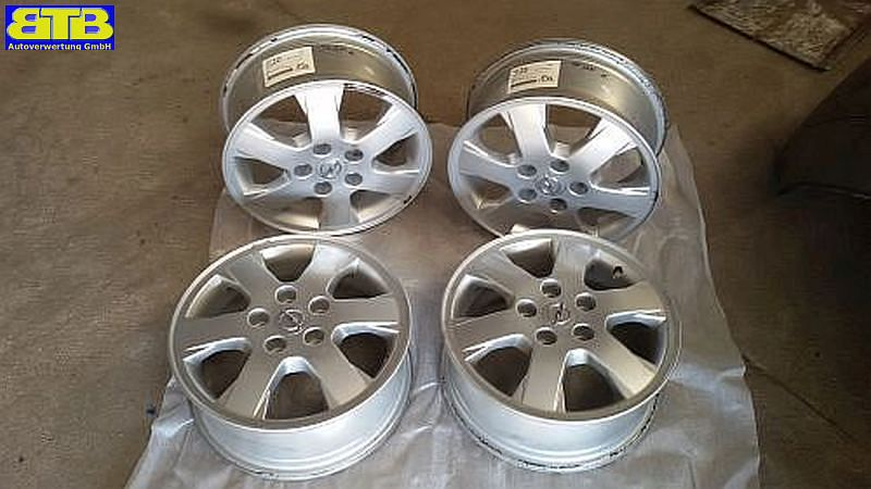 Aluminiumfelge 6JX15 H2 ET49 LK5X110X651Satz(je4Stück)