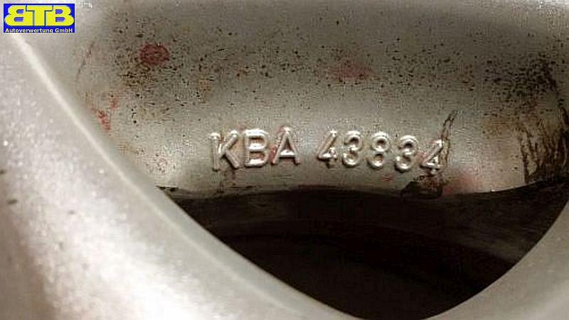 Felge: 5.5JX13 H2 ET41 LK4X100X57,11Satz(je4Stück)
