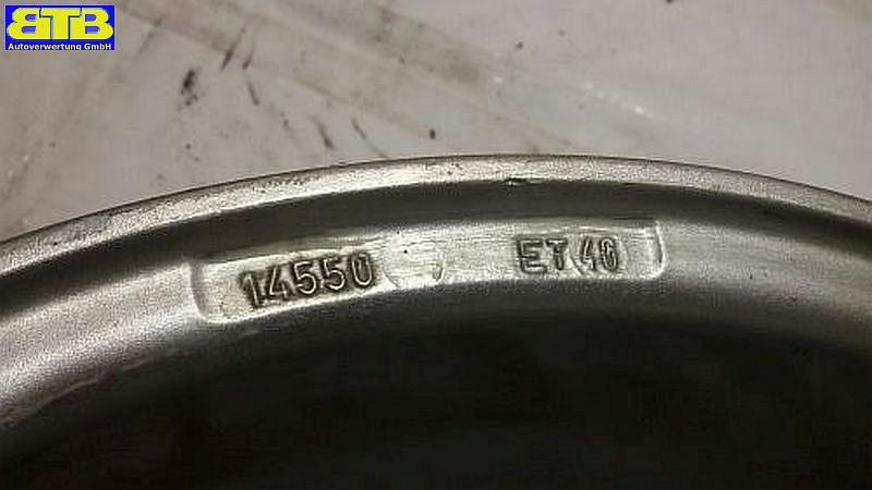 Felge: 5.5JX14 H2 ET40 LK4X100X57,1
