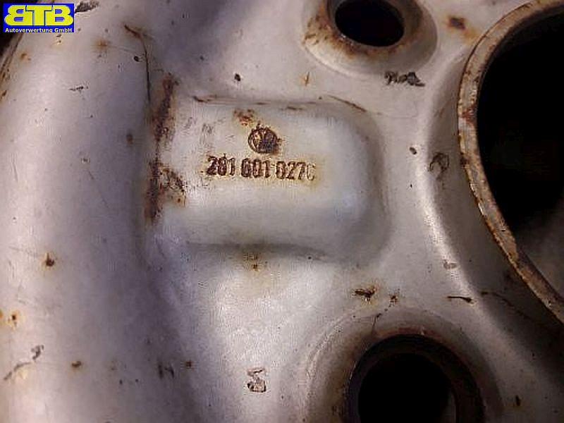 Felge: 6JX14 H2 ET51 LK5X160