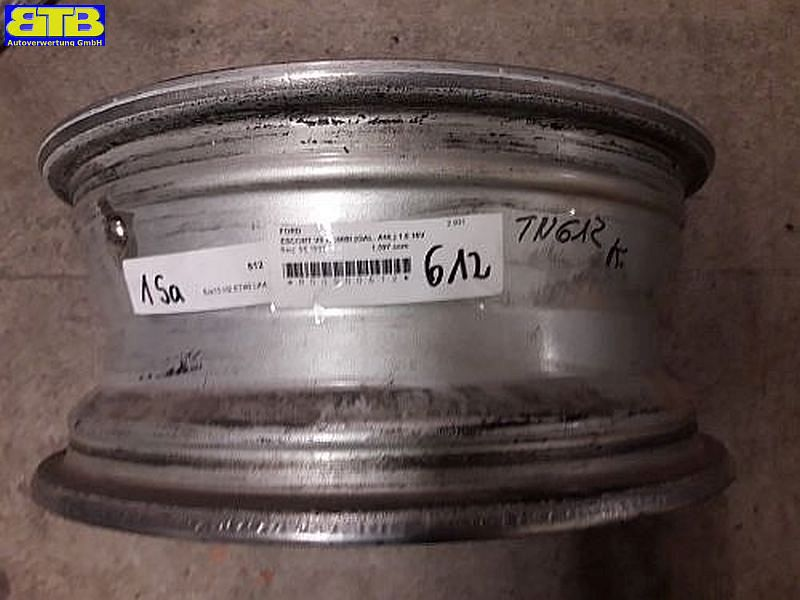 Aluminiumfelge 6JX15 H2 ET40 LK4X108X63,41Satz(je4Stück)