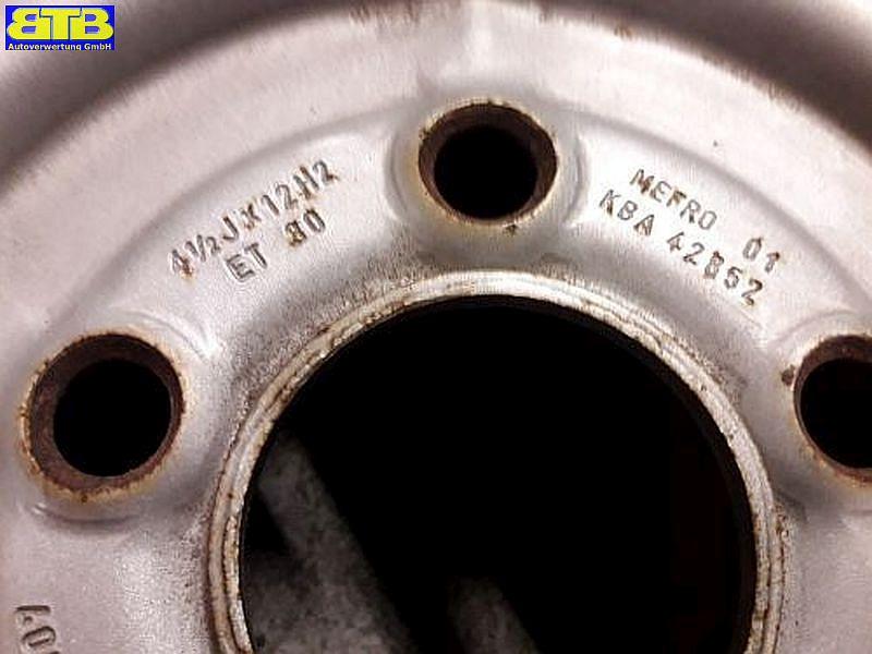 Felge: 4.5JX12 H2 ET30 LK5X112X67