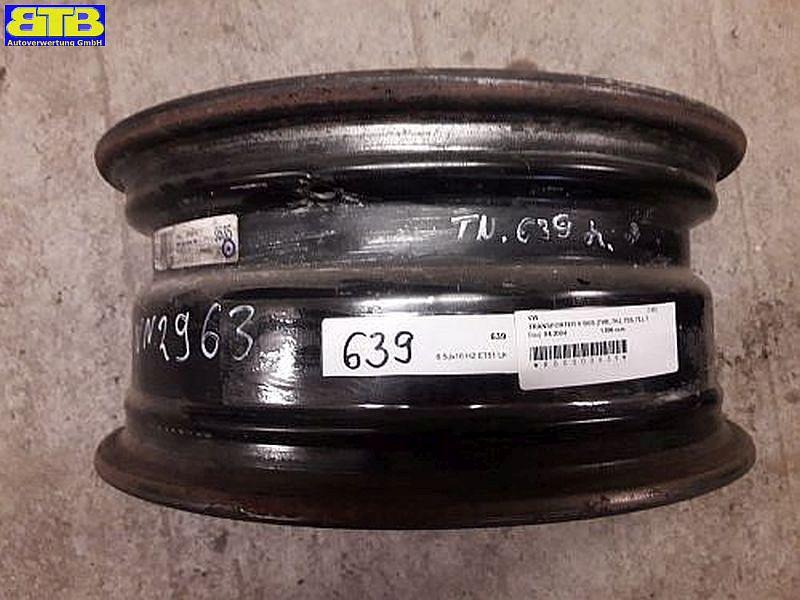 Felge: 6.5JX16 H2 ET51 LK5X120X65