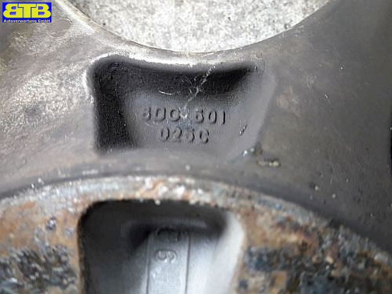 Aluminiumfelge 7JX16 H2 ET45 LK5X112X57