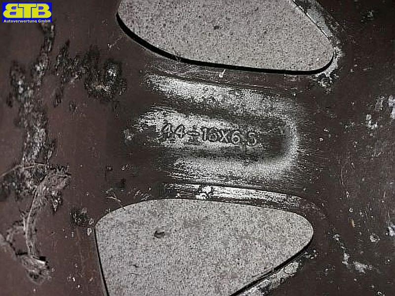 Felge: 6.5JX16 ET45 LK5X100X571Satz(je4Stück)