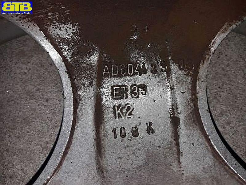 Felge: 6JX14 H2 ET33 LK4X100X64,11Satz(je4Stück)