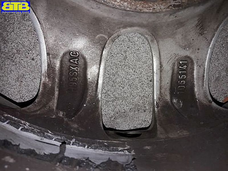 Felge: 5.5JX13 H2 ET41 LK4X108X63,3