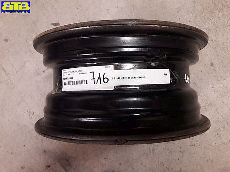 Felge: 5.5JX13 H2 ET49 LK4X100X56,5