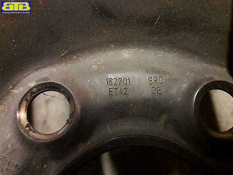 Felge: 6.5JX16 H2 ET42 LK5X100X57