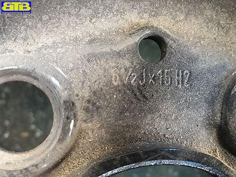 Felge: 6.5JX15 H2 ET49 LK5X112X66,5