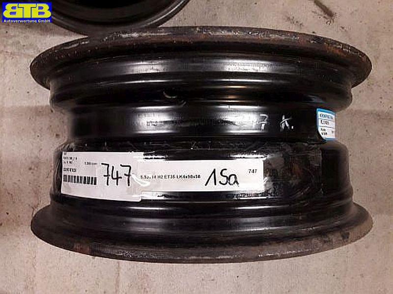 Felge: 5.5JX14 H2 ET35 LK4X98X581Satz(je4Stück)