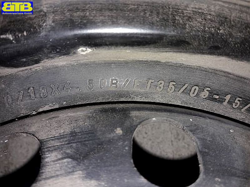 Felge: 4.5BX13 H ET35 LK4X98X58