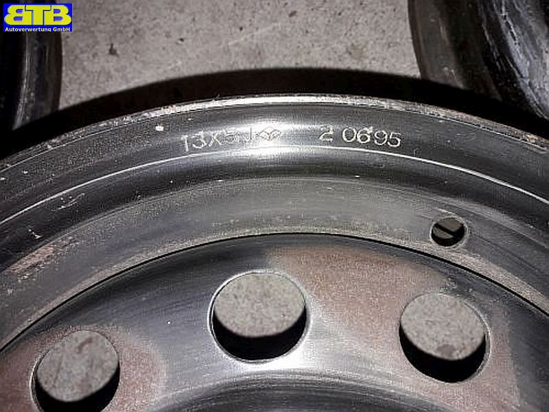Felge: 5JX13 CH ET45 LK4X100X561Satz(je4Stück)