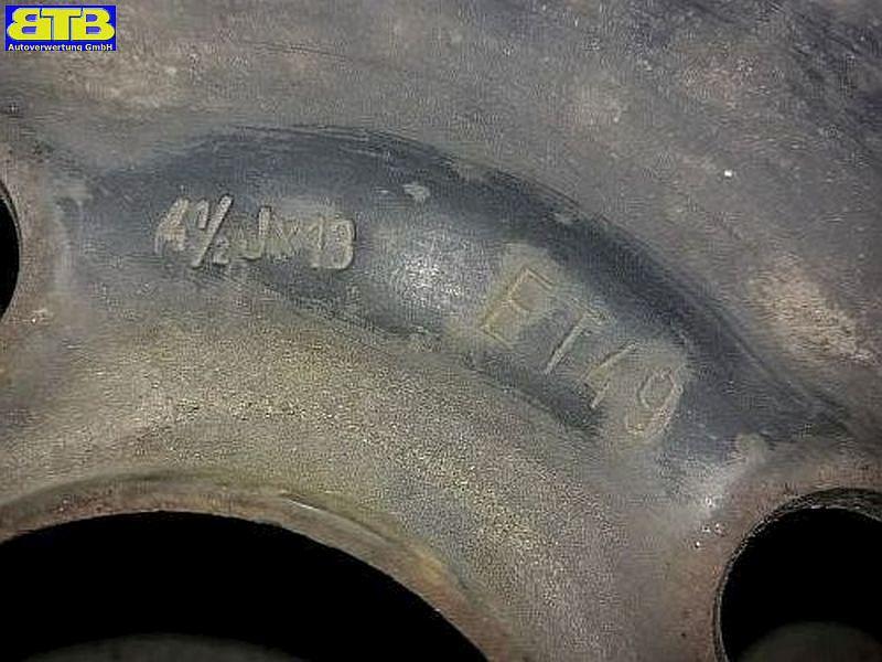 Felge: 4.5JX13 H2 ET49 LK4X100X56,5