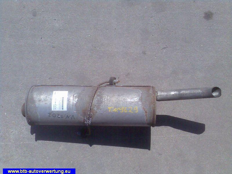 Schalldämpfer hinten Bosal-Vergl.-Nr.:190-227PEUGEOT 306 (7B, N3, N5) 1.4 SL