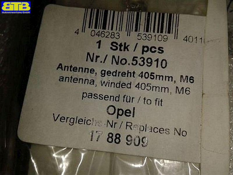 53910 Antennenstab M6