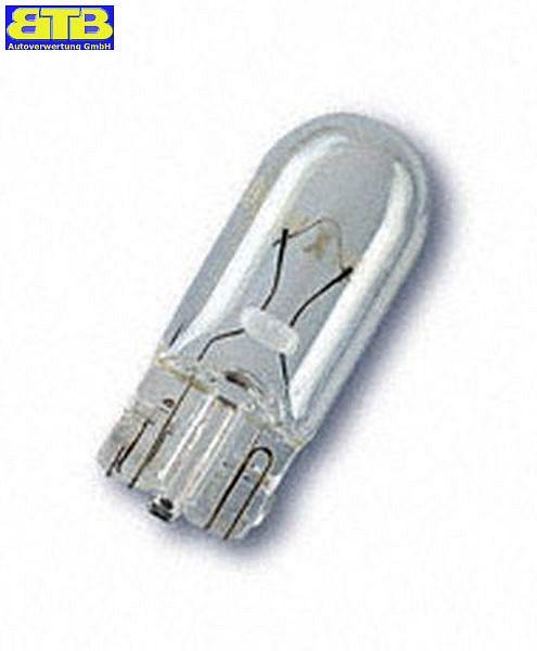 Glühlampe 12V 5W OSRAM  Glassockel