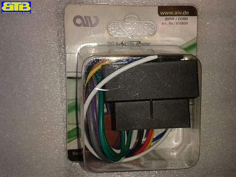 410604 AIV Autoradio-Adapterkabel - BMW, Ford