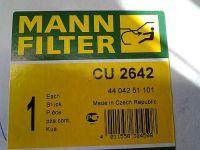 CU2642 MANN-FILTER Filter, Innenraumluft